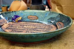 Personalized Commemorative Platter
