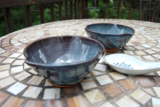 Snack Bowl or Rice Bowl in Slate Blue