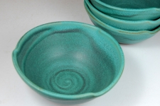Soup Bowl in Turquoise