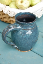 Huge Slate Blue Monster Mug