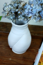 Elegant White Flower Vase