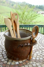 Brownstone Utensil Holder