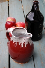 Half Gallon Pitcher in Red Agate