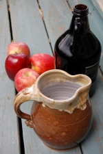 Half Gallon Pitcher in Brownstone - Handmade to Order