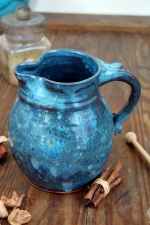 Half Gallon Pitcher in Slate Blue