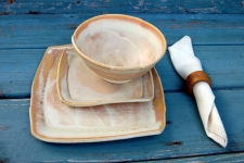 Sunburst Dinnerware Place Setting