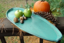 Bread Platter in Turquoise