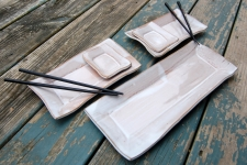 5 Piece Sushi Set in Shale
