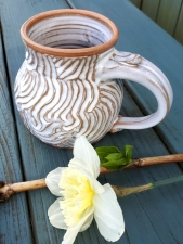 Rooted Mug in Shale - Handmade to Order